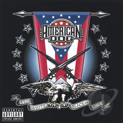 American Dog - Red, White, Black and Blue CD Cover Art