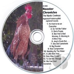 Mystic Cowboys - Rooster Chronicles CD Cover Art