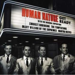 Human Nature - Get Ready CD Cover Art
