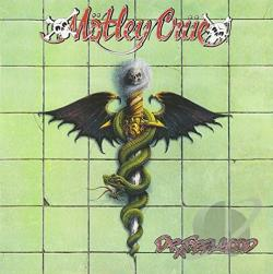 Motley Crue - Dr. Feelgood CD Cover Art