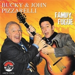 Bucky & John Pizzarelli / Pizzarelli, Bucky / Pizzarelli, John - Family Fugue CD Cover Art