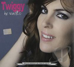 Twiggy (Argentina) - He Vuelto CD Cover Art