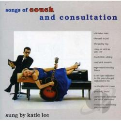 Lee, Katie - Songs of Couch and Consultation CD Cover Art