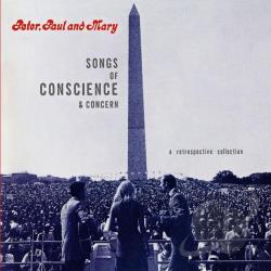 Peter, Paul & Mary - Songs of Conscience & Concern CD Cover Art
