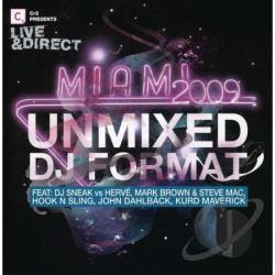Live & Direct: Miami 2009 (Un-Mixed) CD Cover Art