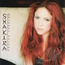 Shakira - Grandes Exitos CD Cover Art