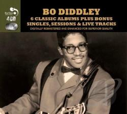 Diddley, Bo - Six Classic Albums CD Cover Art