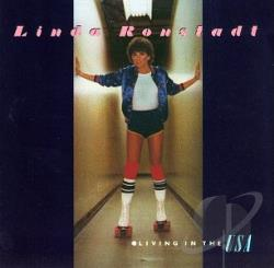 Ronstadt, Linda - Living In The U.S.A. CD Cover Art
