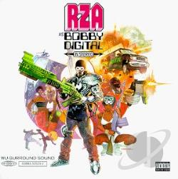 Rza - RZA as Bobby Digital in Stereo CD Cover Art