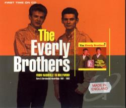 Everly Brothers - From Nashville to Hollywood CD Cover Art