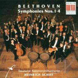 German Chamber Philharmonic; Heinrich SC - Beethoven: Symphony No. 1 In C; Symphon CD Cover Art