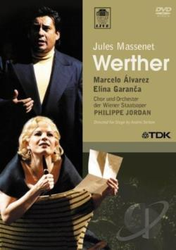 Jules Massenet - Werther DVD Cover Art