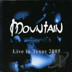 Mountain - Live in Texas 2005 CD Cover Art