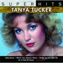 Tucker, Tanya - Super Hits CD Cover Art