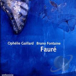 Faure / Fontaine / Gaillard - Faure: Works for Cello & Piano CD Cover Art