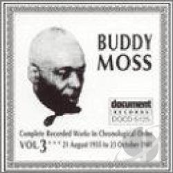 Moss, Buddy - Complete Recordings, Vol. 3: 1935 - 1941 CD Cover Art