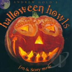 Gold, Andrew - Halloween Howls: Fun & Scary Music CD Cover Art