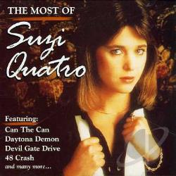 Quatro, Suzi - Most of Suzi Quatro CD Cover Art