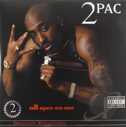 Tupac - All Eyez on Me LP Cover Art