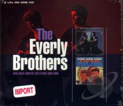 Everly Brothers - Sing Great Country Hits/Gone Gone Gone CD Cover Art