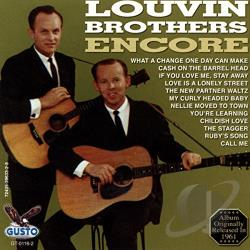 Louvin Brothers - Encore CD Cover Art