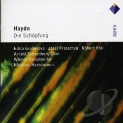 Gruberova / Harnoncourt / Haydn / Vienna Phil. Orch. - Haydn: The Creation CD Cover Art
