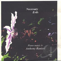 Ranieri, Anthony - Necessary Evils CD Cover Art