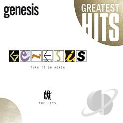 Genesis - Turn It on Again: The Hits CD Cover Art