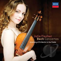 Amf / Bach / Fischer, Julia - Bach: Violin Concertos CD Cover Art