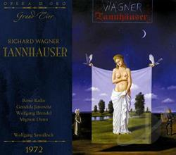 Brendel / Janowitz / Kollo - Wagner: Tannhauser CD Cover Art