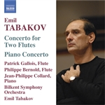 Gallois / Tabakov - Tabakov: Concerto for 2 flutes; Piano Concerto CD Cover Art