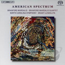 Daugherty / Marsalis / North Carolina Sym - American Spectrum CD Cover Art