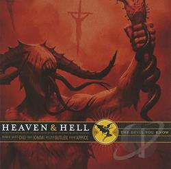 Heaven & Hell - Devil You Know CD Cover Art