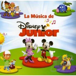 La Musica De Disney Junior CD Cover Art