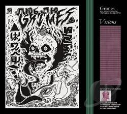 Grimes - Visions CD Cover Art
