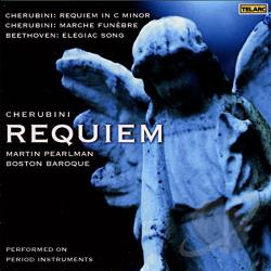 Boston Baroque - Cherubini: Requiem in C Minor CD Cover Art