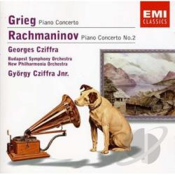 Cziffra, Georges - Grieg / Rachmaninov:Piano CD Cover Art