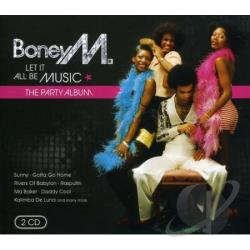 Boney M - Let It All Be Music CD Cover Art