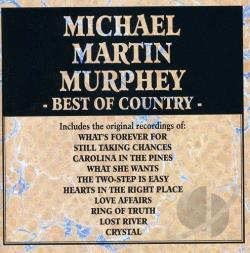 Murphey, Michael Martin - Best of Country CD Cover Art