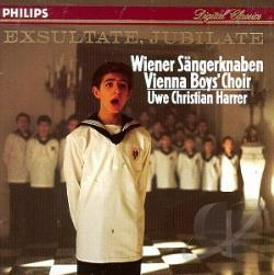 Vienna Choir Boys - Mozart: Exsultate Jubilate, Etc / Harrer, Vienna Boys'Choir CD Cover Art