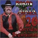 Ayala, Ramon - 20 Corridos Bravisimos CD Cover Art