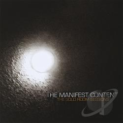 Manifest Content - Gold Room Sessions CD Cover Art