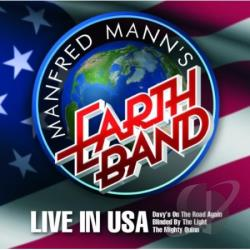 Mann, Manfred - Live In Usa CD Cover Art