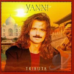 Yanni - Tribute CD Cover Art