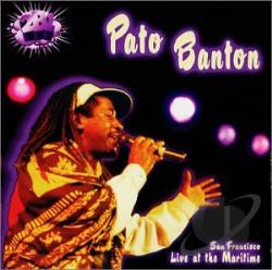 Banton, Pato - Live at Maritime Hall: San Francisco CD Cover Art