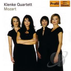 Klenke Quartett / Mozart - Mozart: String Quartets, K. 464 & 465 CD Cover Art