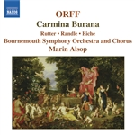 Alsop / Bournemouth So / Orff - Orff: Carmina Burana CD Cover Art