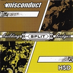 H.S.D. / Misconduct - Building Bridges CD Cover Art