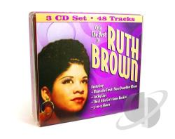 Brown, Ruth - Only the Best of Ruth Brown CD Cover Art