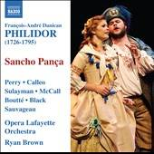 Calleo / Oplo / Perry / Philidor - Francois-Andre Danican Philidor: Sancho Panca CD Cover Art